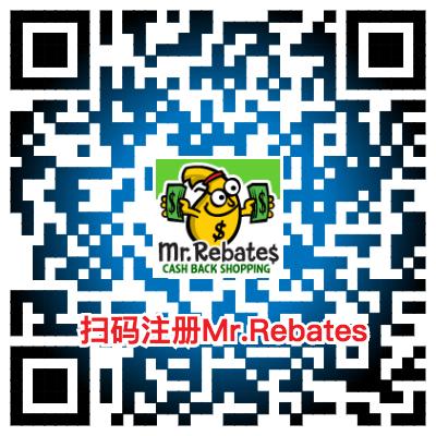 Mr.Rebates注册二维码